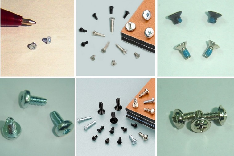 Micro Fasteners Nylon Screws 75